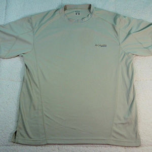 Columbia PFG Omni-Shade Gray Shirt Large